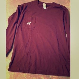 Pink victoria secret long sleeve tshirt